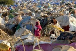 Civil war in Darfur has displaced 2 million people
