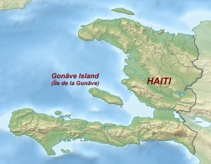 La Gonave map