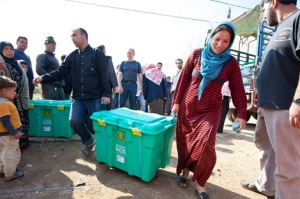ShelterBoxes being deployed to Syrian refugees