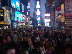 Protests at Times Square following the ruling