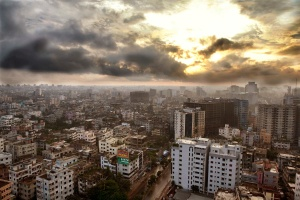 Dhaka from above